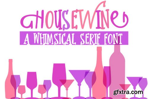 Housewine Font