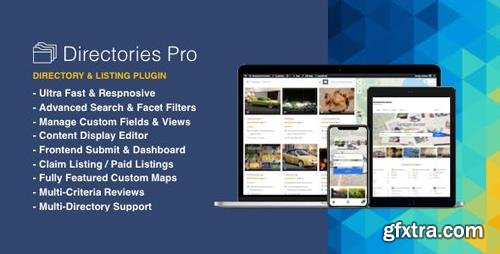 CodeCanyon - Directories Pro v1.2.38 - plugin for WordPress - 21800540