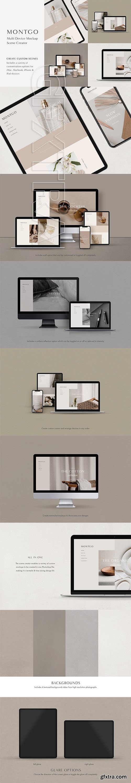 CreativeMarket - Multi Device Mockup Scene Creator 3712601