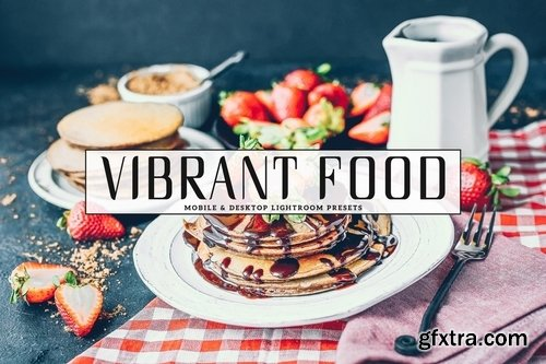 CM - Vibrant Food Photography Lightroom Presets 3734393