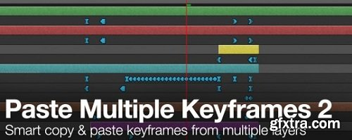 Aescripts Paste Multiple Keyframes 2.0.3.1 for After Effects