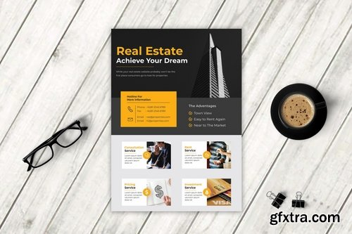 Real Estate Flyer Vol. 4