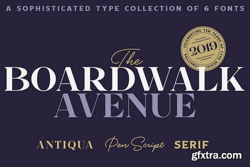 Boardwalk Avenue Font Family