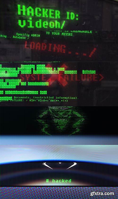 Videohive - Hacker Logo - 22588051