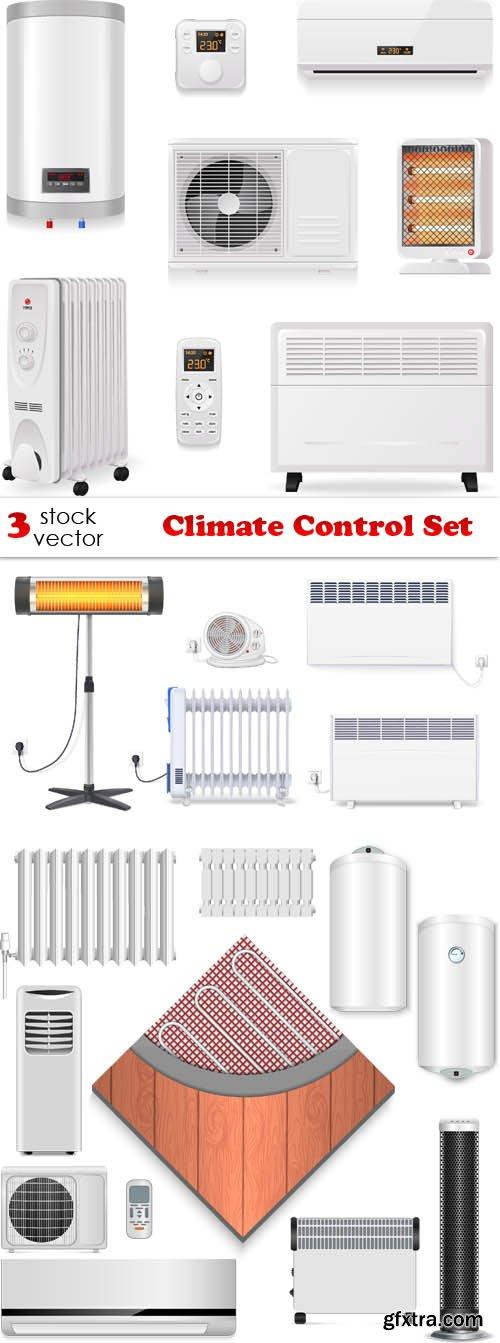 Vectors - Climate Control Set