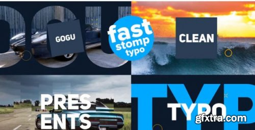 Fast Stomp Typo - After Effects 209267