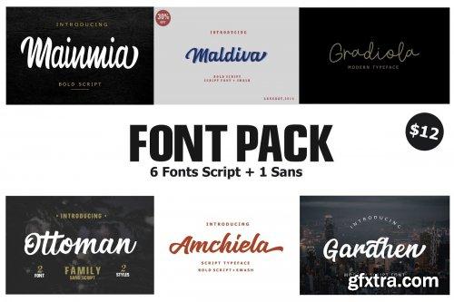 CreativeMarket - Font Pack Edition 1 3685493