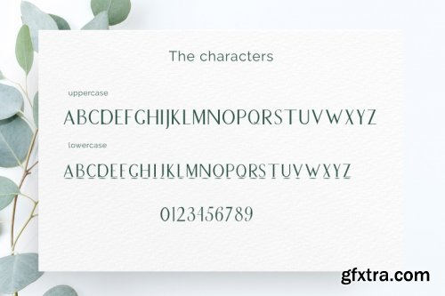 FontBundles - Peronel, Decorative typeface, for logos and more 246775