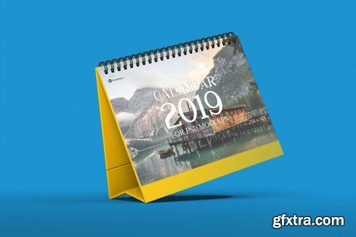 Calendar Table Mockups vol.1