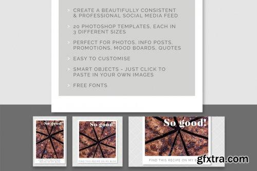 CreativeMarket - Snapshot Social Media Template pack 1893878