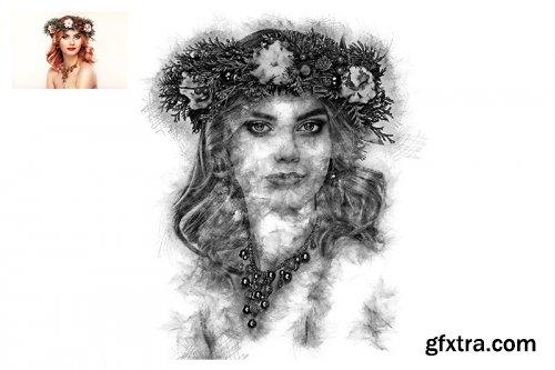 Sketch Art Photoshop Actions
