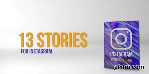 Instagram Stories Library - Premiere Pro Templates 218773