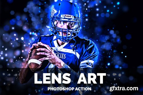 Lens Art Photoshop Action