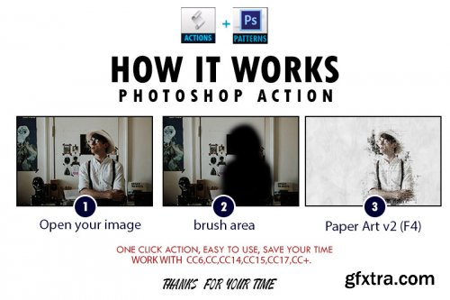 Paper Art v2 Photoshop Action