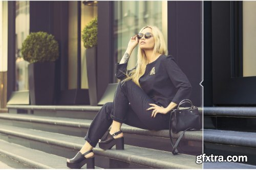 55 Fashion Light Photoshop Actions