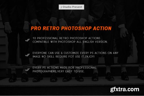 10 Pro Retro Photoshop Action