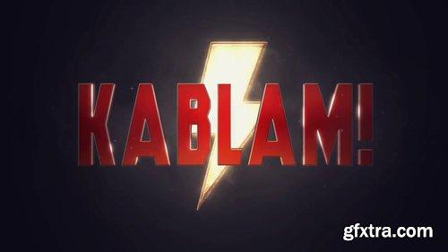 Kablam Logo Reveal 218189 » GFxtra