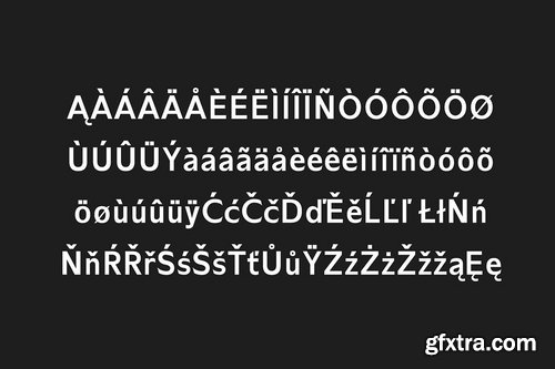 CM - Daecca Sans Serif Font Family 3739877