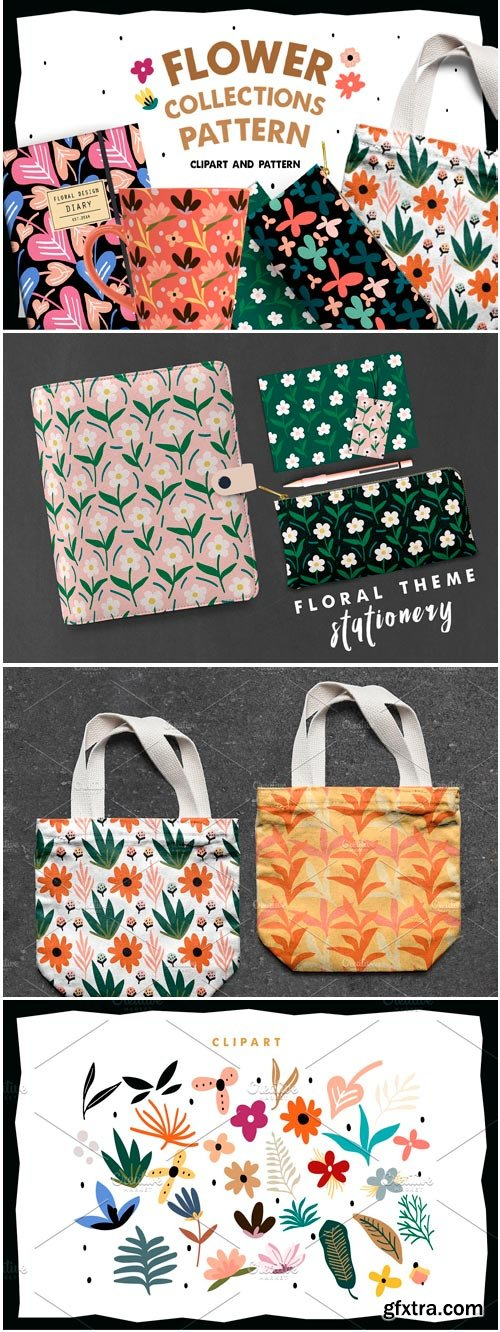 CM - Flower Collections Pattern 3738006