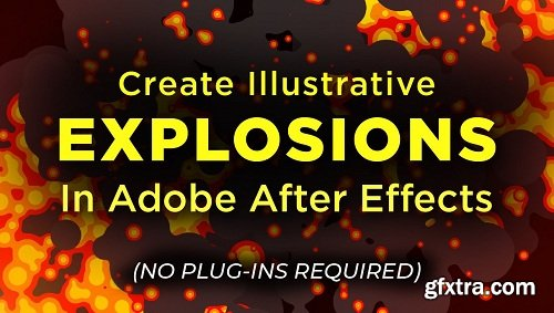 Create Illustrated Explosions in Adobe After Effects