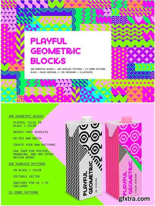 CM - Playful Geometric Blocks 3515803
