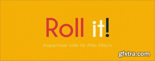 Aescripts Roll it 1.0.1 for After Effects