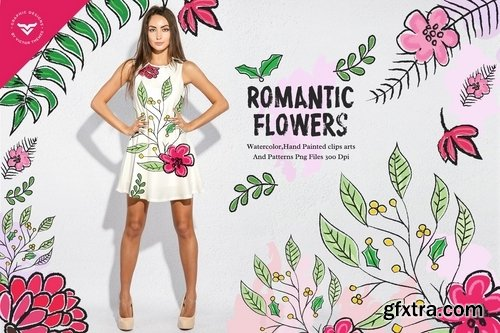 Romantic Flowers Collection