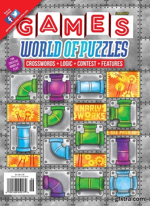 Games World of Puzzles - June 2019