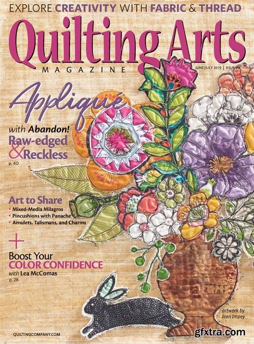 Quilting Arts - June/July 2019