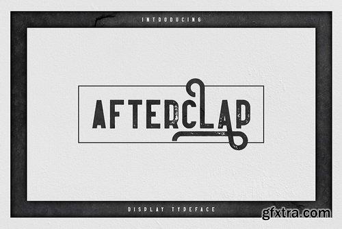 Afterclap Font Family