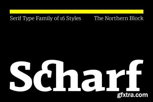 Scharf Font Family