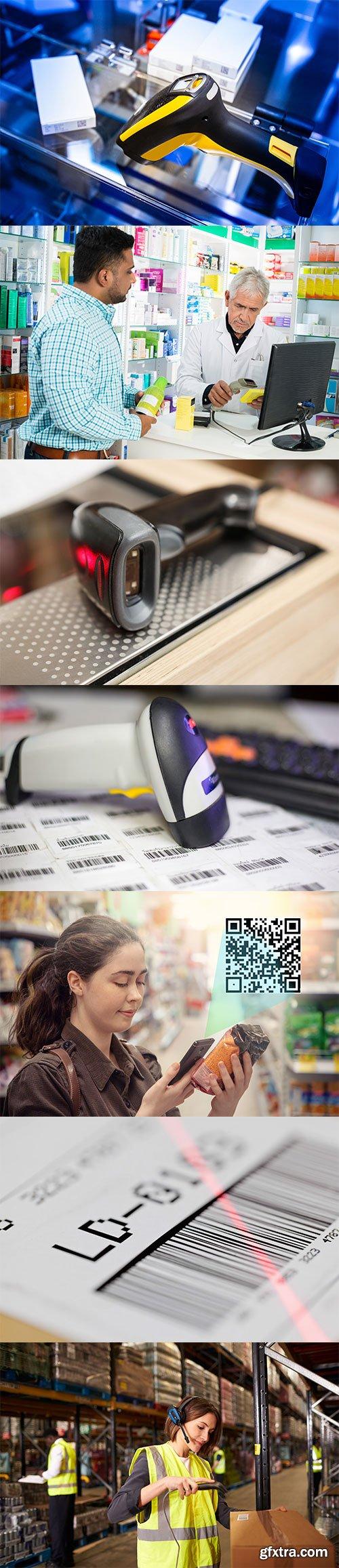 Photo - Barcode Reader - 10xJPGs