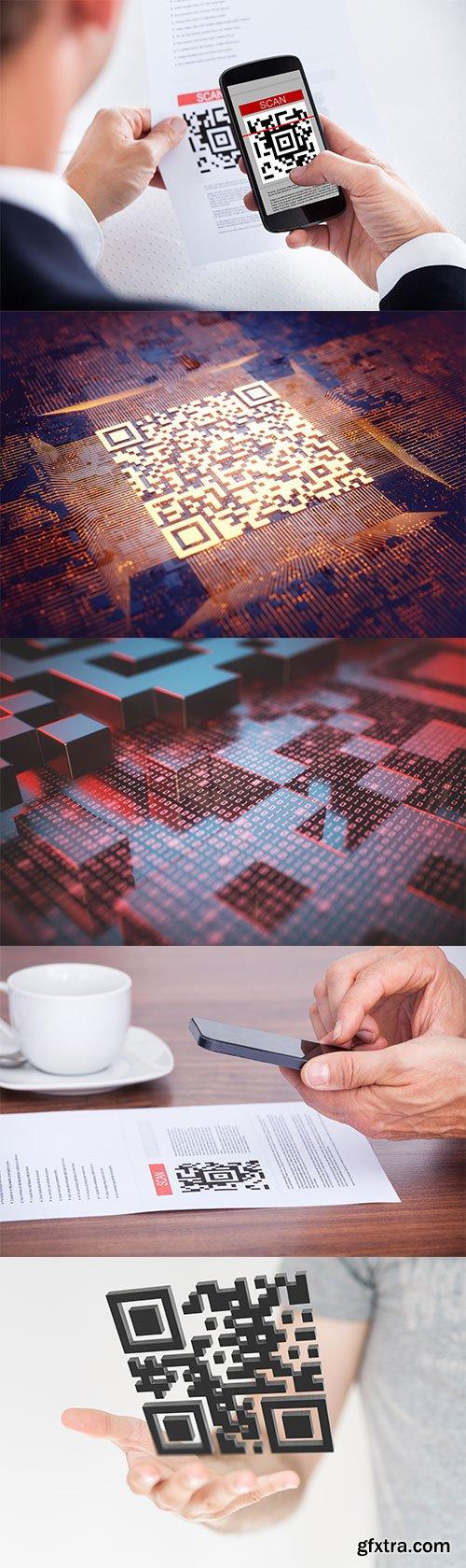 Photo - Data Matrix Reader - 5xJPGs