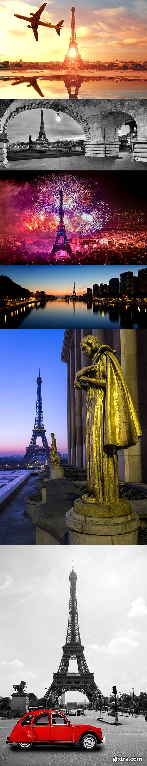Photo - Eiffel Tower - 11xJPGs
