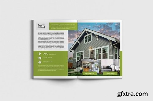 Homecore - A4 Real Estate Brochure Template