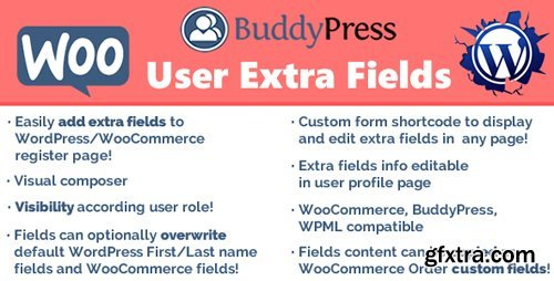 CodeCanyon - User Extra Fields v14.1 - 12949844