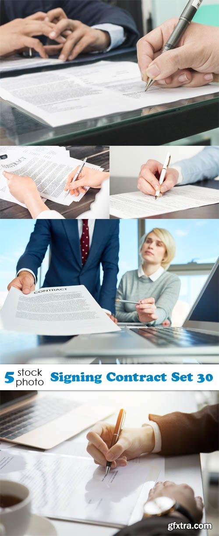 Photos - Signing Contract Set 30