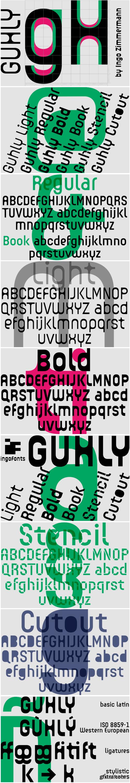 Guhly Font Family