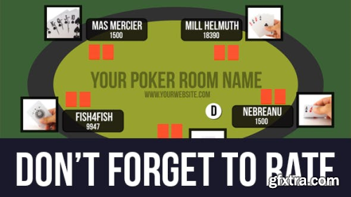 VideoHive Online Poker Room Presentation 10521479