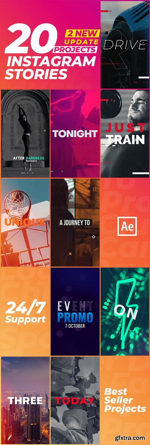 Videohive - Instagram Stories - 22798802