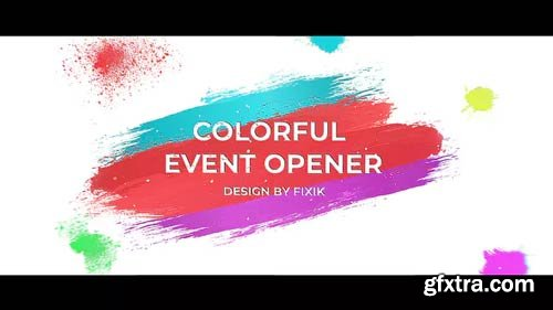 Videohive - Colorful Event Opener   After Effects Template - 23528113
