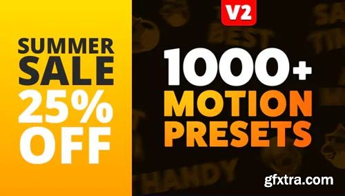 Videohive - The Most Handy Motion Presets for Animation Composer V.2.1 - 9276104
