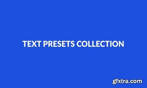 Videohive - 170 Text Presets - 9358175