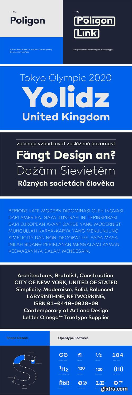 Poligon Font Family