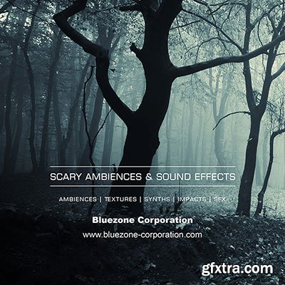 Bluezone Corporation Scary Ambiences and Sound Effects WAV
