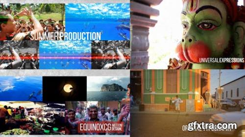 VideoHive Summer Slideshow // Glitch Opener 11827710