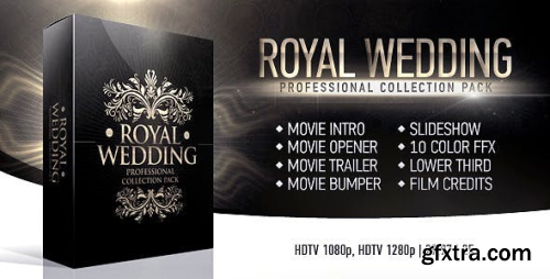 VideoHive Royal Wedding Package 4629853