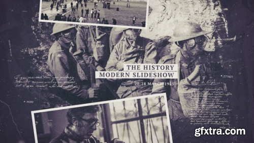 VideoHive The History Slideshow 23040879