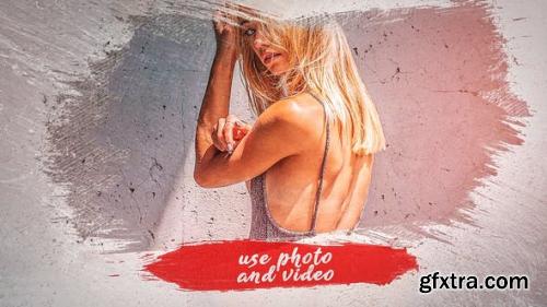 VideoHive Brush Paint Slideshow 23643720