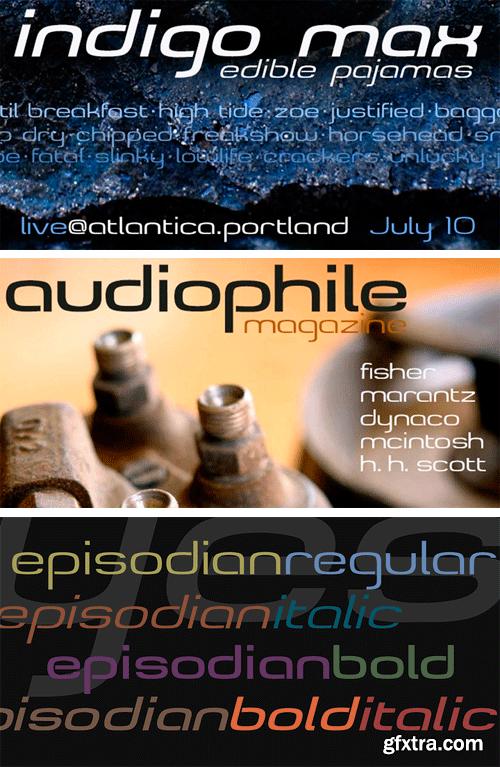 Episodian Font Family
